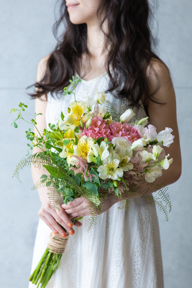 中サイズの花束